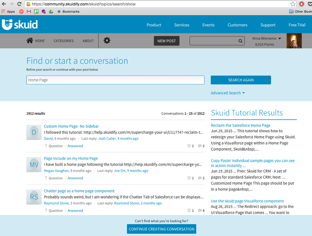 Reclaim the Salesforce Home Page — Skuid v12 1 9 Documentation