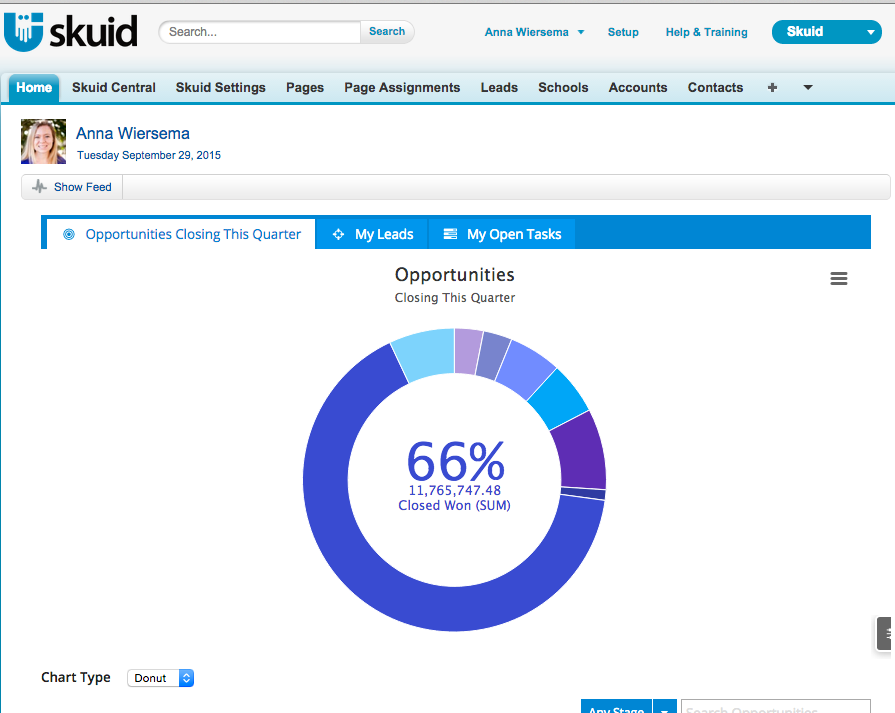 Reclaim the Salesforce Home Page — Skuid v11.1.7 Documentation